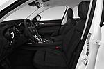 Front seat view of a 2018 Alfa Romeo Stelvio Ti 5 Door SUV front seat car photos