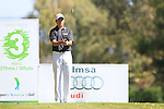 David Howell (ENG) tees off on the 3rd tee during the Final Day Sunday of the Open de Andalucia de Golf at Parador Golf Club Malaga 27th March 2011. (Photo Eoin Clarke/Golffile 2011)