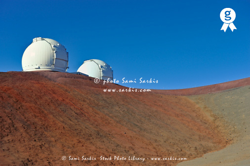 Astronomical observatory, Mauna Kea, Hawaii, USA (Licence this image exclusively with Getty: http://www.gettyimages.com/detail/91537161 )