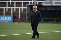 Dagenham Manager, Peter Taylor, walks across the pitch ahead of kick-off during Bromley vs Dagenham & Redbridge, Vanarama National League Football at the H2T Group Stadium on 24th November 2018