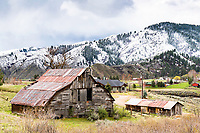 Old Barn, Lucky Peak, Boise Idaho