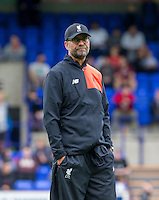Liverpool Manager Jurgen Klopp during the 2016/17 Pre Season Friendly match between Tranmere Rovers and Liverpool at Prenton Park, Birkenhead, England on 8 July 2016. Photo by PRiME Media Images.