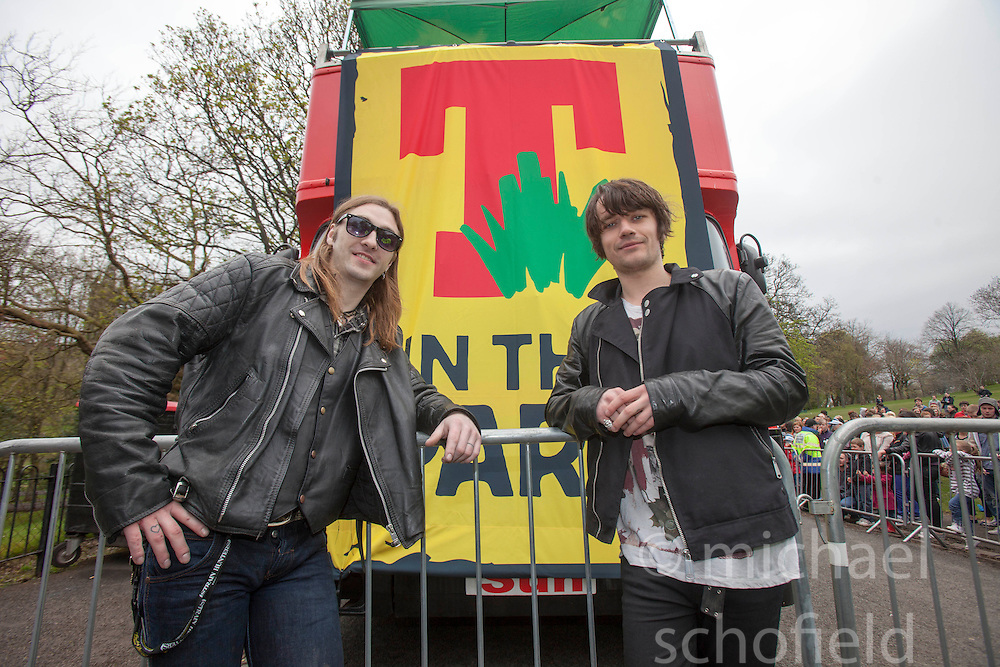 T in the Park Roadshow with The View  | Michael Schofield