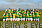 The Kerry's ladies team that beat Tyrone at Milltown/Castlemaine grounds on Sunday.