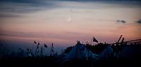 Beautiful evening. Photo: Johanna Mårtensson/Scouterna