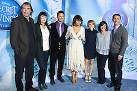 NEW YORK, NY - OCTOBER 20:  Timothy Dalton, Anjelica Huston, Matt Lanter, Raven-Symone and Mae Whitman at the New York Premiere of Disney's Secret Of The Wings at AMC Loews Lincoln Square 13 theater on October 20, 2012 in New York City. © Felicia Franco/MediaPunch Inc. /NortePhoto