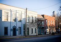 Downtown Hillsboroguh, NC.
