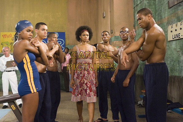REGINE NEHY, EVAN ROSS, NATE PARKER, KIMBERLY ELISE, ALPHONSO McAULEY, BRANDON FOBBS & KEVIN PHILLIPS.in Pride .**Editorial Use Only**.CAP/FB.Supplied by Capital Pictures