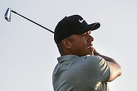 Jhonattan Vegas (VEN) watches his tee shot on 11 during day 2 of the Valero Texas Open, at the TPC San Antonio Oaks Course, San Antonio, Texas, USA. 4/5/2019.<br /> Picture: Golffile | Ken Murray<br /> <br /> <br /> All photo usage must carry mandatory copyright credit (&copy; Golffile | Ken Murray)
