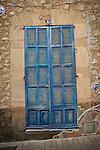 Blue shuttered door, Arta, Mallorca