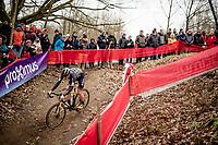 Thijs Aerts (BEL/Telenet Baloise Lions)<br /> <br /> Elite + U23 Men's Race<br /> CX GP Leuven (BEL) 2020<br />  <br /> ©kramon