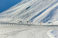 James dalton highway, Brooks Range, Alaska.
