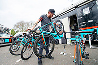 Picture by Allan McKenzie/SWpix.com - 15/04/18 - Cycling - HSBC UK British Cycling Spring Cup Road Series - Chorley Grand Prix 2018 - Chorley, England - Madison Genesis, bike.