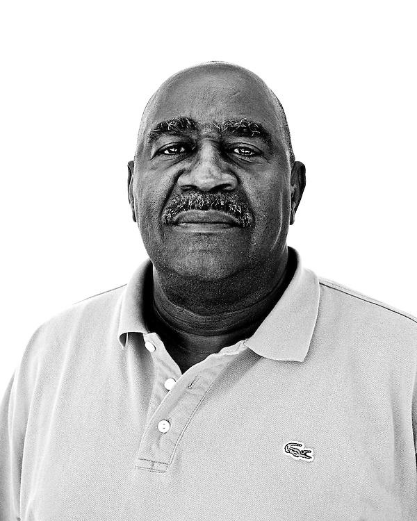 May 26, 2010. Chapel Hill, North Carolina..Portraits of former and current residents of the Northside neighborhood.. Nate Davis grew up in Northside and is the director of the Hargraves Community Center in the neighborhood.