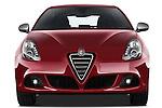 Straight front view of a 2010 - 2014 Alfa Romeo Giulietta 5 door hatchback.