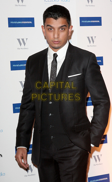 TIM KASH.MTV Staying Alive Foundation Dinner at the Westbury Hotel, Mayfair, London - .January 27th, 2011.half length black  suit jacket white.CAP/ROS.©Steve Ross/Capital Pictures