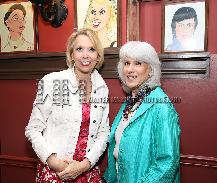 Julie Halston and Jamie deRoy attend the 7th Annual Off Broadway Alliance Awards at Sardi's on June 20, 2017 in New York City.