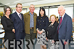 Pictured at the Launch of the Irish Academy of Hospitality and Tourism in the IT, Tralee on Friday, from left: Claire Breen, Alexander Gillespie, Michael O'Connor, Majella Pierce, Olivia Freyne (Waterford IT) and Paddy Breen..