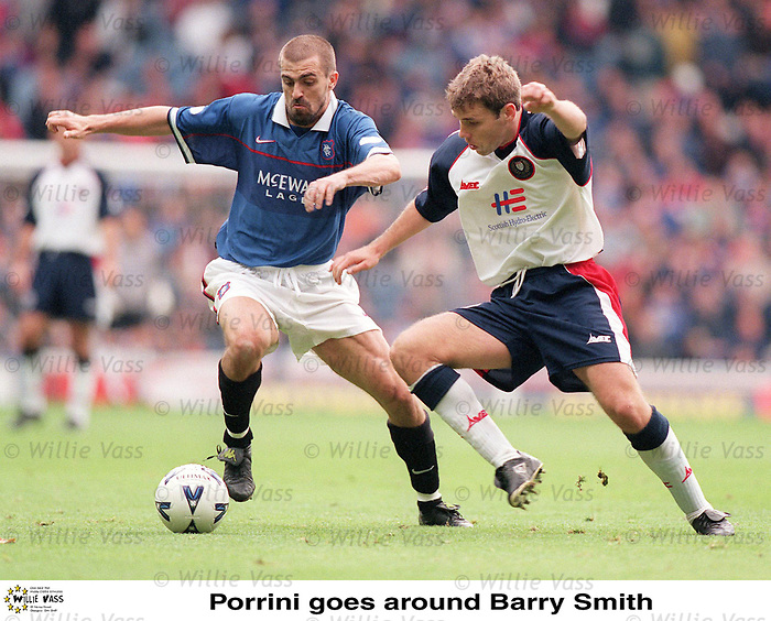 Sergio Porrini and Barry Smith of Dundee