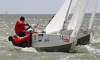 20th SPA Regatta - Medemblik.26-30 May 2004..Copyright free image for editorial use. Please credit Peter Bentley..Hans Stitzauer - AUT