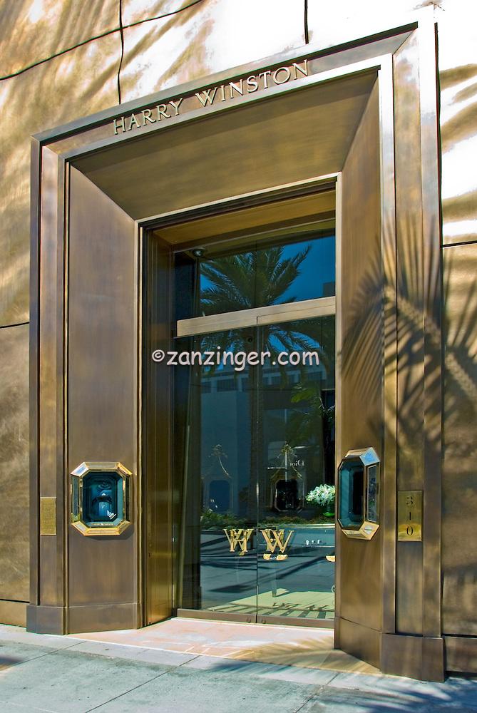 Harry Winston Rodeo Drive Luxury Jewelry Beverly Hills
