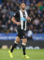 Andy Carroll of Newcastle United during the Premier League match between Leicester City and Newcastle United at the King Power Stadium, Leicester, England on 29 September 2019. Photo by Andy Rowland.