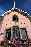Europe/France/Bretagne/29/Finistère/Sainte-Marine: l'Abri du Marin sur le port