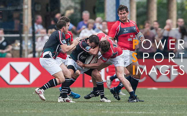 Hong Kong play UAE during their HSBC Asian Five Nations 2013 Top 5 Division match at the Hong Kong Football Club on 20 April 2013 in Hong Kong. Photo by Andy Jones / The Power of Sport Images