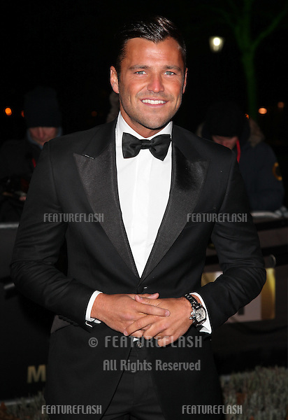 Mark Wright arriving for The Sun Military Awards, at The Imperial War Museum, London. 06/12/2012 Picture by: Alexandra Glen / Featureflash
