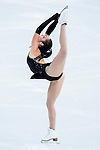 Kaetlyn Osmond of Canada compete in the Figure Skating Team Ice Dance Short Program during the 2014 Sochi Olympic Winter Games at Iceberg Skating Palace on February 8, 2014 in Sochi, Russia. Photo by Victor Fraile / Power Sport Images