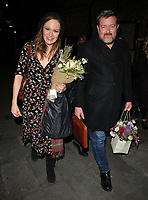 Rachael Stirling and Guy Garvey at the &quot;Labour Of Love&quot; press night, Noel Coward Theatre, St Martin's Lane, London, England, UK, on Tuesday 03 October 2017.<br /> CAP/CAN<br /> &copy;CAN/Capital Pictures