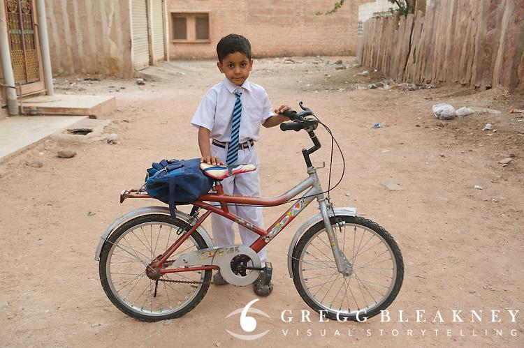 Schoolboy - Phalodi, India