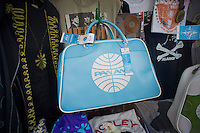 "Luggage and bags related to the ABC television program ""Pan Am"" is seen discounted in a store in New York on Wednesday, January 11, 2012.  The future for the program set in 1961 following the exploits of stewardesses for the now defunct airline is still in limbo. (© Richard B. Levine)"