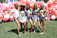 INDIO, CA - April 14: Martha Hunt, Jasmine Tookes, Alessandra Ambrosio, Josephine Skriver, Romee Strijd, At Victoria's Secret Launch &quot;Sexy Little Things&quot; At Coachella Valley  In California on April 14, 2017. <br /> CAP/MPI/FS<br /> &copy;FS/MPI/Capital Pictures
