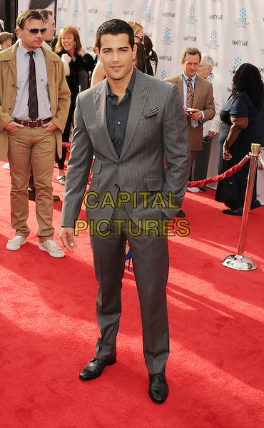 "Jesse Metcalfe.The World Premiere of the 40th Anniversary Restoration of ""Cabaret"" at Grauman's Chinese Theatre in Hollywood, California, USA..April 12th, 2012.full length suit shirt blue grey gray.CAP/ROT/TM.©Tony Michaels/Roth Stock/Capital Pictures"