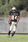 Palos Verdes, CA 10/08/10 - Okuoma Idah (Peninsula #24) in action during the South Torrance Spartans vs Peninsula Panthers Varsity football game at Palos Verdes Peninsula High School.