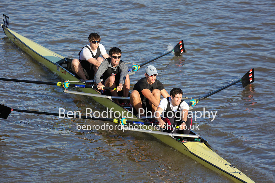 Crew: 240  TRC (M)  Thames RC (T Bradshaw)  4- Chall<br /> <br /> Fours Head of the River 2018<br /> <br /> To purchase this photo, or to see pricing information for Prints and Downloads, click the blue 'Add to Cart' button at the top-right of the page.