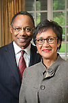 Eugene Washington, Chancellor for Health Affairs and CEO of the Duke University Health System, with his wife Marie