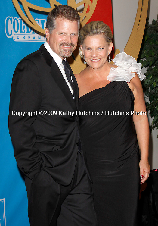 Robert Newman, Kim Zimmer.36th Annual Daytime Emmy Awards - Press Room.The Orpheum Theatre.Los Angeles, CA.August 30, 2009.©2009 Hutchins Photo....