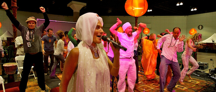 Global Mala Project (GMP) event. Gurmukh.