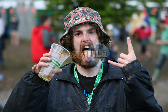Having Fun at Oxegen Festival 2007 on Saturday the 7th of July 2007 at the Punchestown Racecourse, Co Kildare, Ireland. (Photo by Manus O'Reilly/NEWSFILE)