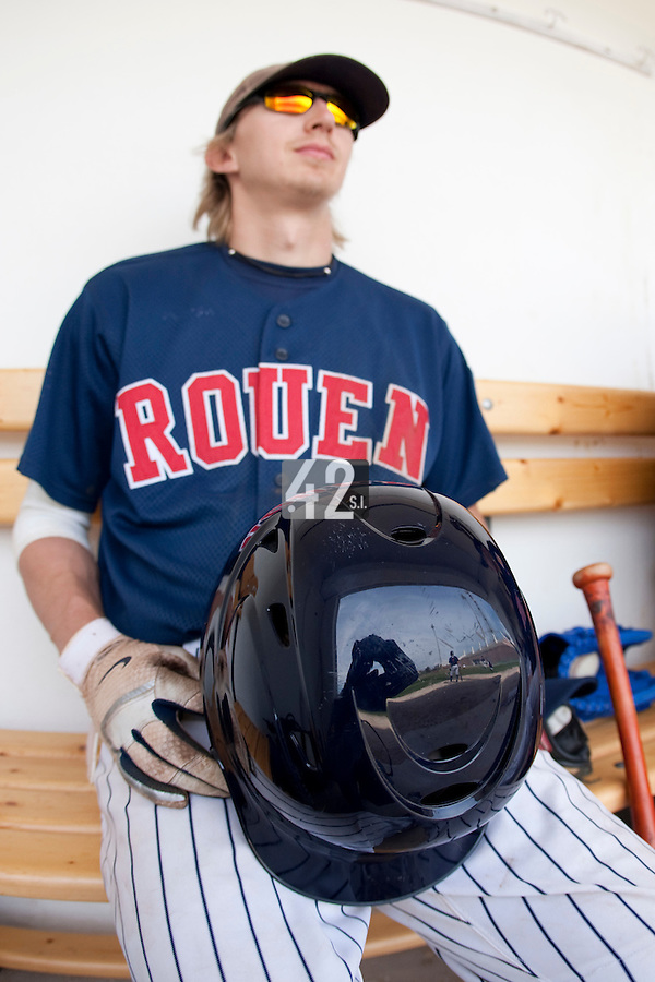 Baseball - European Cup 2009 - Anzio (Italy) - 03/04/2009 - Regensburg Legionaire v Rouen Baseball '76 - Luc Piquet