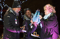Ice sculpting festival winners