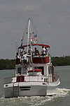 Ramblin' Rose - 11th Annual SoapFest - Actors take a break on the Ramblin' Rose with Ken as the captain on May 2, 2009 on Marco Island, FLA. (Photo by Sue Coflin/Max Photos)