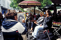 Frankreich, Paris: Maler auf dem Montmartre | France, Paris: painter at Montmartre