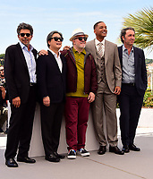 www.acepixs.com<br /> <br /> May 17 2017, Cannes<br /> <br />  (L-R) Gabriel Yared, Park Chan-wook, President of the jury Pedro Almodovar, Will Smith and Paolo Sorrentino at a photocall for Jury members during the 70th annual Cannes Film Festival at Palais des Festivals on May 17, 2017 in Cannes, France.<br /> <br /> By Line: Famous/ACE Pictures<br /> <br /> <br /> ACE Pictures Inc<br /> Tel: 6467670430<br /> Email: info@acepixs.com<br /> www.acepixs.com