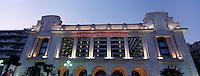 """France/06/Alpes Maritimes/Nice: Facade de l'Hotel """"le Palais de la Méditerranée"""" sur la Promenade des Anglais vue de nuit [Non destiné à un usage publicitaire - Not intended for an advertising use]"""