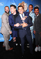 NEW YORK, NY April 20, 2017  Justin Russo, Jorge Bustillos, Peppermint, Patrick McDonald, Cheyenne Parker, Mark Consuelos attend Logo's Fire Island Premiere Party  at Atlas Social Club  in New York April 20,  2017. Credit:RW/MediaPunch