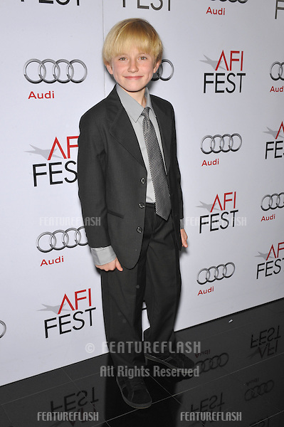 "Actor Nathan Gamble at the premiere of his new movie ""The Hole"" at the AFI Fest 2009 at Mann's Chinese 6 Theatre, Hollywood..October 31, 2009  Los Angeles, CA.Picture: Paul Smith / Featureflash"