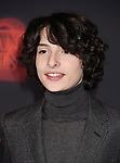 WESTWOOD, CA - OCTOBER 26: Actor Finn Wolfhard arrives at the Premiere Of Netflix's 'Stranger Things' Season 2 at Regency Westwood Village Theatre on October 26, 2017 in Los Angeles, California.